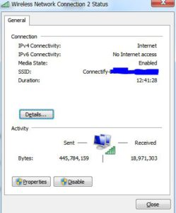connectednointernetipV6