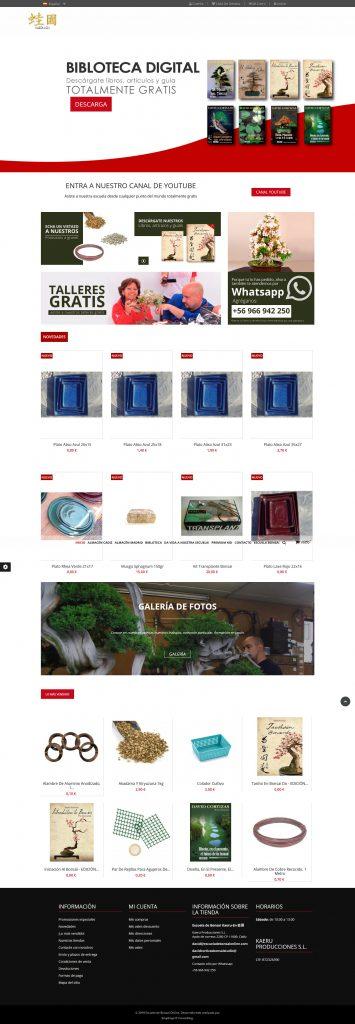 Tienda Escuela de Bonsai Online