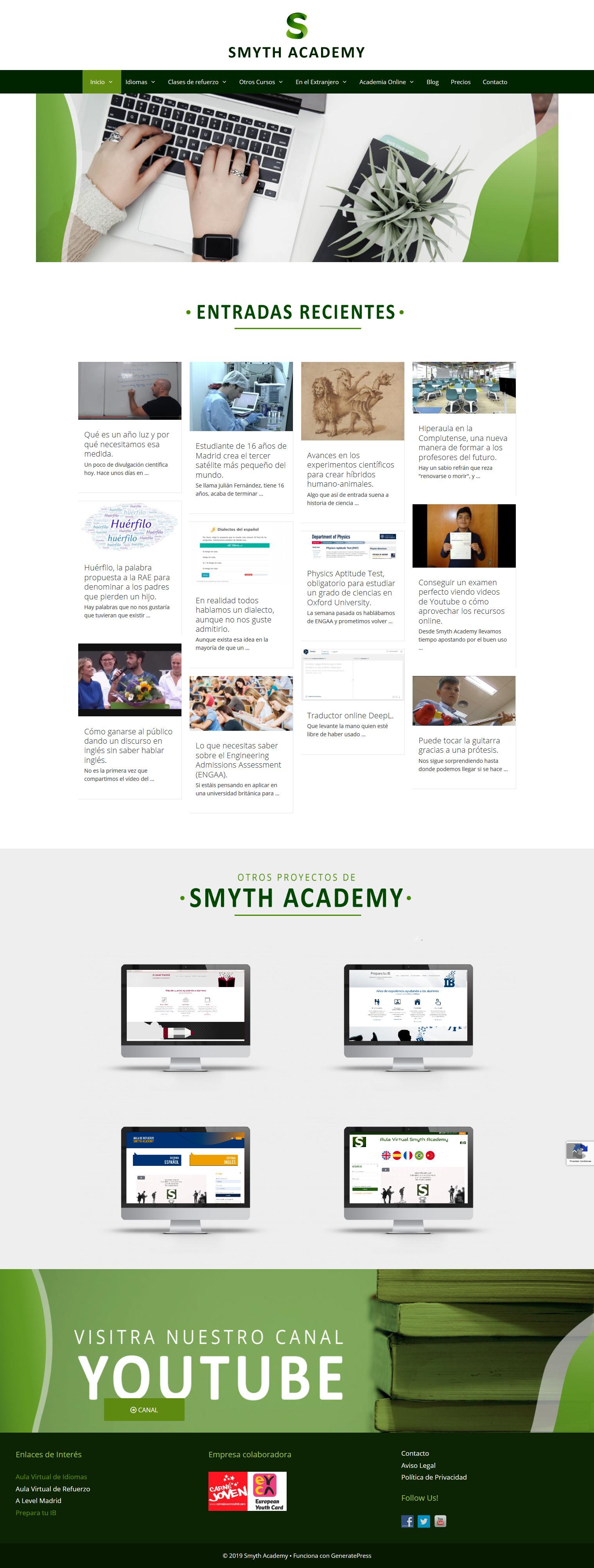 Cambio de look en Smyth Academy