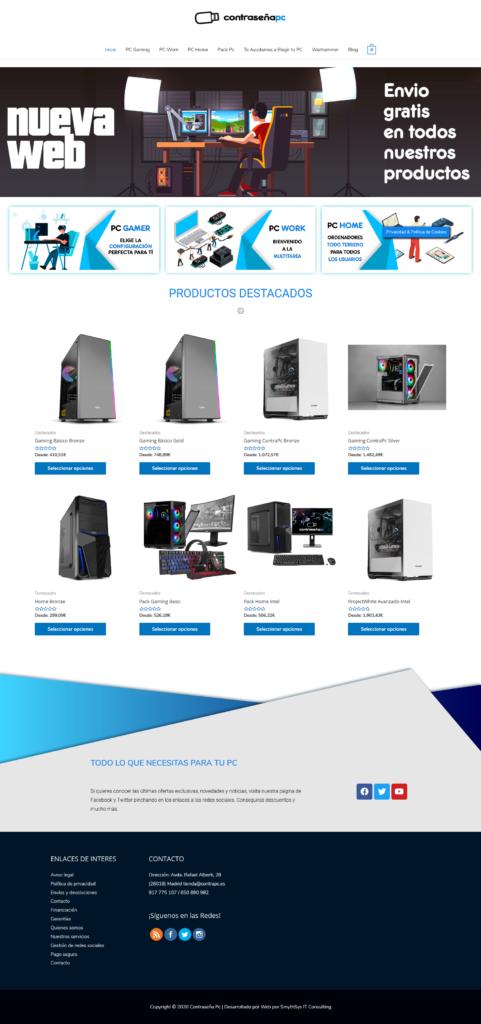 Contraseña PC Web 2020